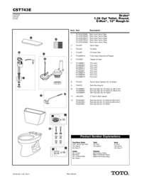 Parts Manual: CST744E