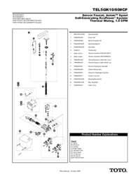 Parts Manual: TEL5GK10, TEL5GK60