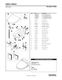 Parts Manual: SW843, SW844
