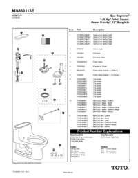 Parts Manual: MS863113E