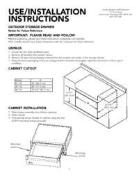 Installation Instructions (269 KB)