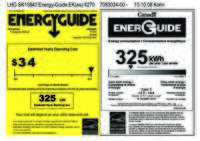 Energy Label R + RI 1410