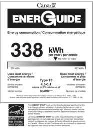6OARM ENERGY GUIDE(Canadian)