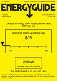 FSM50LESSSTBADA Energy Guide