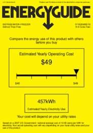 FF1620WSSTB Energy Guide