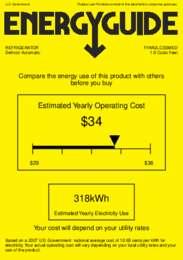 FFAR2LCSSMED Energy Guide