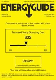 FS407LBIMEDDT Energy Guide