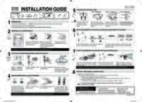 Quick Guide (Easy Manual) (ver.1.0) Aug 9, 2012 ENGLISH, FRENCH, SPANISH 0.89 pdf