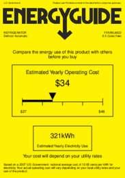 FFAR9LMED Energy Guide