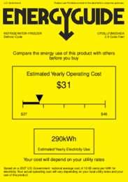 CP35LLF2MEDADA Energy Guide