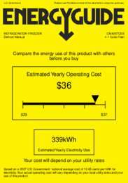 CM4057CSS Energy Guide