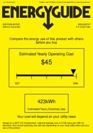 SP6DSSTB7 Energy Guide