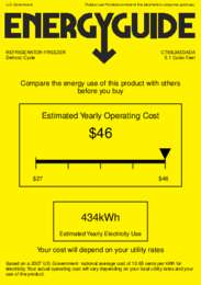 CT66LMEDADA Energy Guide