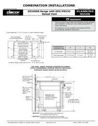 Combined Configuration ER30D_ERV30
