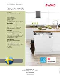 D5424XL Quick Spec Sheet