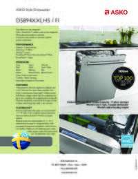 D5894XXLFI Quick Spec Sheet