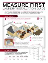 Measure First Laundry Installation Guide