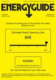 AL650BISSHV Energy Guide