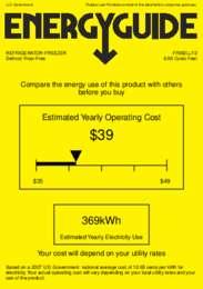 FF882LLF2 Energy Guide