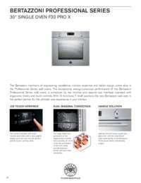 Specification Sheet F30 PRO X