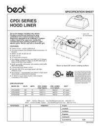 CPDI Specification Sheet