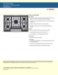 bosch gas cooktop installation instructions