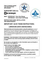 Installation & Instruction Manual