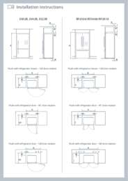 Ice & Water Refs Joinery Specs