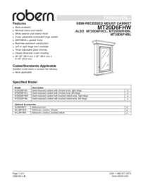 Technical Specs & Rough-Ins