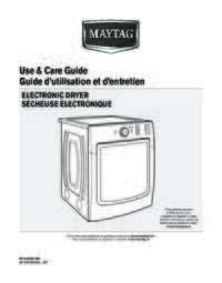 Matag model lat9206bae Manual