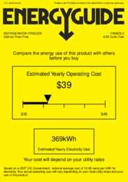 FF882SLV Energy Guide