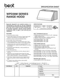 WPD39M Specification-Sheet