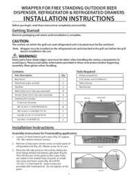 Wrapper Refir Tap Drawer