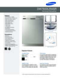 Specifications Sheet PDF