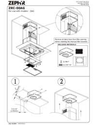 ZRC-00AG: Recirculating Kit