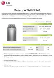 Lg Wt6001hva 27 Inch 4 7 Cu Ft Top Load Washer In