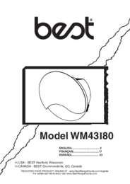 WM43I Installation Guide 99044841A.
