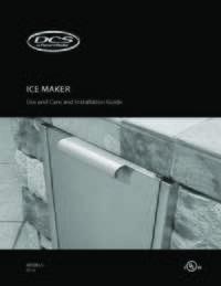 RF15I-Icemaker-User-Guide