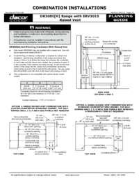 Combined Configuration DR30DI_ERV3015