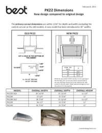 PK22 Comparison Sheet