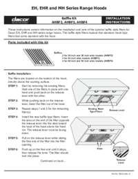 Installation Instructions EH_EHR_MH Baffle Installs