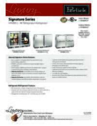 HP48RR-S Spec Sheet