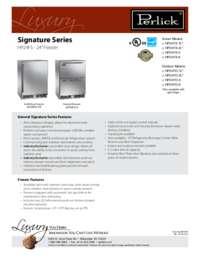 HP24FO Spec Sheet