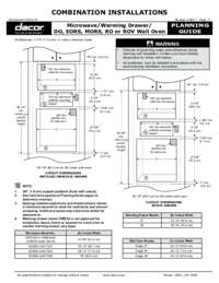 Combined Configuration Microwave_Warming Drawer_ DO-EOR-MOR-RO