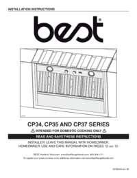 CP3 Installation Guide 08544 REV-09