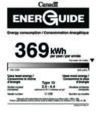 Energy Guide Canada