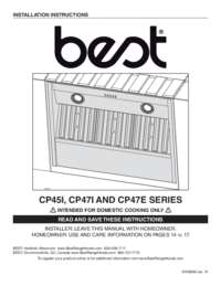 CP4 Installation Guide 08580 REV-10