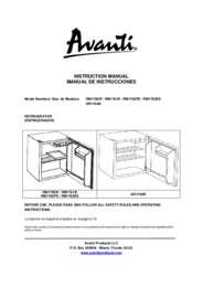 Instruction Manual: Model RM1762PS - 1.7 CF Refrigerator - Black w/Platinum Finish Door