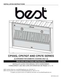 CP55IQ CP57IQT CP57E Series Installation Manual SV