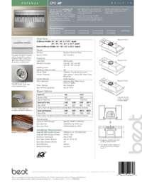 Potenza CP5 Series Sell Sheet 99850936